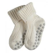 Catspads Cotton Socks - Baby-Off White-6-12 months