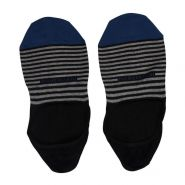 Invisible Touch Pima Cotton Striped Socks - Men's