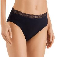 Cotton Lace Maxi Briefs - Women's