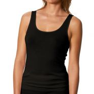 Exquisite Thermal Sporty Tank Top - Women's-Black-38