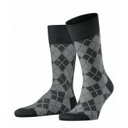 Carrington Socks - Men's-Black-40-46